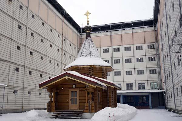 В храме СИЗО-1 УФСИН России по Тверской области состоялось таинство крещения