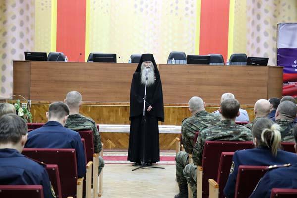 В УФСИН России по Тверской области прошла творческая встреча сотрудников с монахом Киприаном