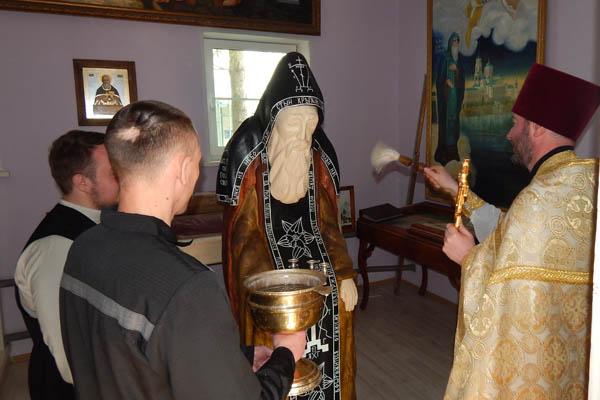 В ИК-6 УФСИН России по Тверской области осужденные поклонились чудотворным иконам