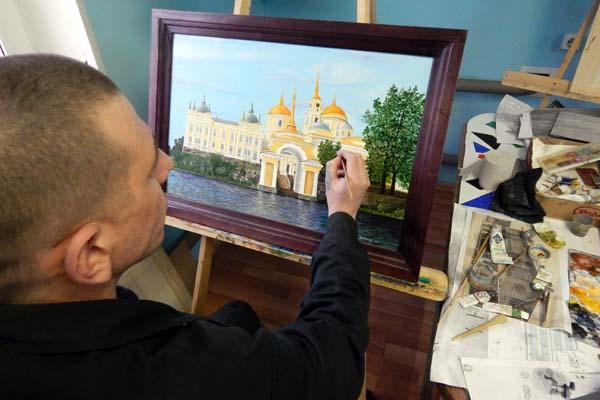 В ИК-6 УФСИН России по Тверской области возрождают старинные церковные ремесла