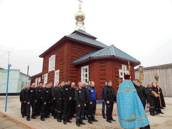 Епископ Бежецкий и Весьегонский Филарет провел праздничное богослужение в ИК-6 УФСИН России по Тверской области